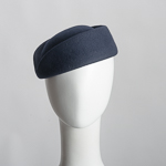 Wool Blocked Untrimmed Pillbox Felt Hat Base